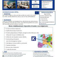 Vente 2 hôtels dans l'est de la France